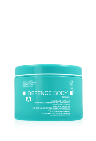 BIONIKE DEFENCE BODY ANTICELLULITE SCULPT FANGO ALLE 3 ARGILLE 500 G - Farmastar.it