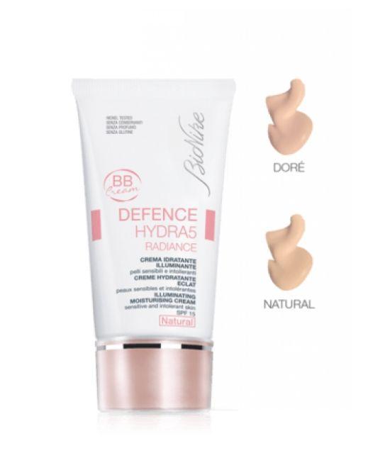 BioNike Defence Hydra5 Radiance BB Cream Idratante Illuminante Spf15 Nuance Natural 40ml - Farmapage.it