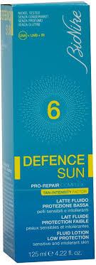 DEFENCE SUN 6 LATTE FLUIDO PROTEZIONE BASSA 125 ML - Farmaunclick.it