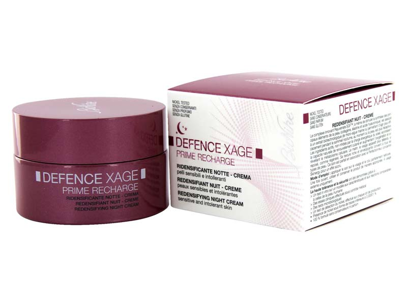 BINIKE Defence Xage Prime Recharge Crema Ridensificante Notte 50ml - Farmapage.it
