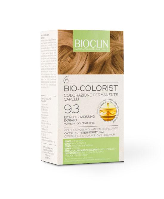 BIOCLIN BIO COLORIST COLORAZIONE PERMANENTE BIONDO CHIARISSIMO DORATO - La tua farmacia online
