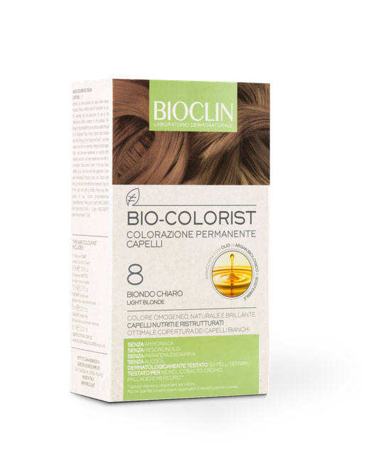 Bioclin Bio Colorist 8 biondo chiaro - latuafarmaciaonline.it