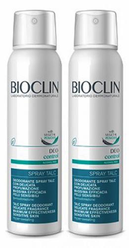 BIOCLIN DEO CONTROL SPRAY TALC BIPACK - Farmacia Centrale Dr. Monteleone Adriano