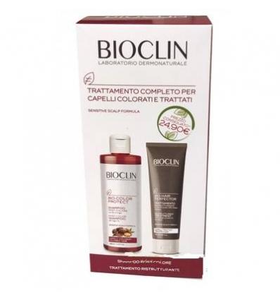 BIOCLIN SHAMPOO POST COLORE + TRATTAMENTO RISTRUTTURANTE 400 ML - Farmaconvenienza.it