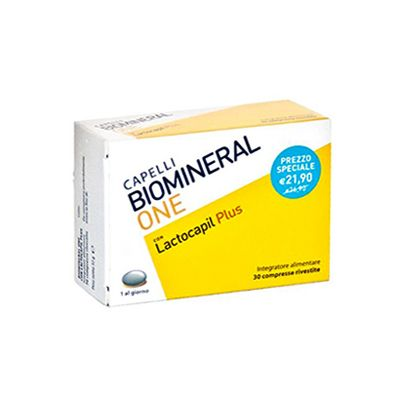 BIOMINERAL ONE LACTOCAPIL PLUS 30  COMPRESSE  - FARMAPRIME