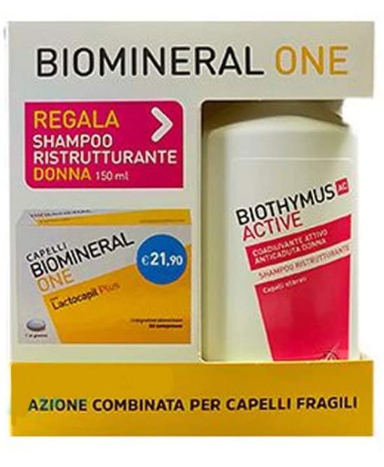 BIOMINERAL ONE LACTOCAPIL PLUS 30 COMPRESSE RIVESTITE PREZZO SPECIALE - Farmaci.me
