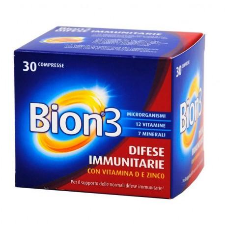 Bion3 Difese Immunitarie - 30 compresse - Farmavicinoate