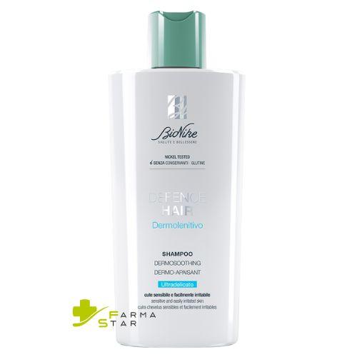 Defence Hair Shampoo Dermolenitivo Ultradelicato 400 ml + Defence Hair Balsamo Crema Nutriente Riparatore 200 ml Bionike - Farmastar.it
