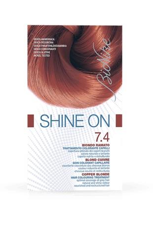 Bionike Shine On Trattamento Colorante Capelli Biondo Ramato 7.4 - Arcafarma.it