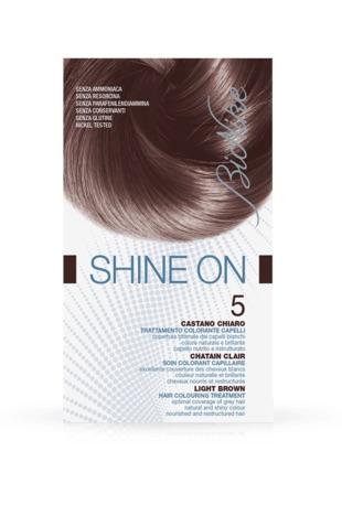 Bionike Shine On Trattamento Colorante Capelli Castano Chiaro 5 - Arcafarma.it