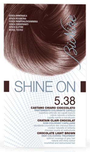 BIONIKE SHINE ON 5,38 CASTANO CHIARO CIOCCOLATO 125 ML - Farmacia Centrale Dr. Monteleone Adriano
