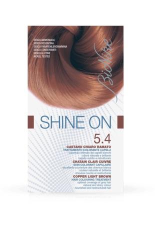 Bionike Shine On Trattamento Colorante Capelli Castano Chiaro Ramato 5.4 - Arcafarma.it