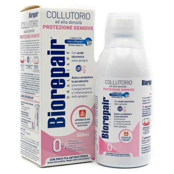 BIOREPAIR COLLUTORIO PROTEZIONE GENGIVE 500 ML - Farmafamily.it