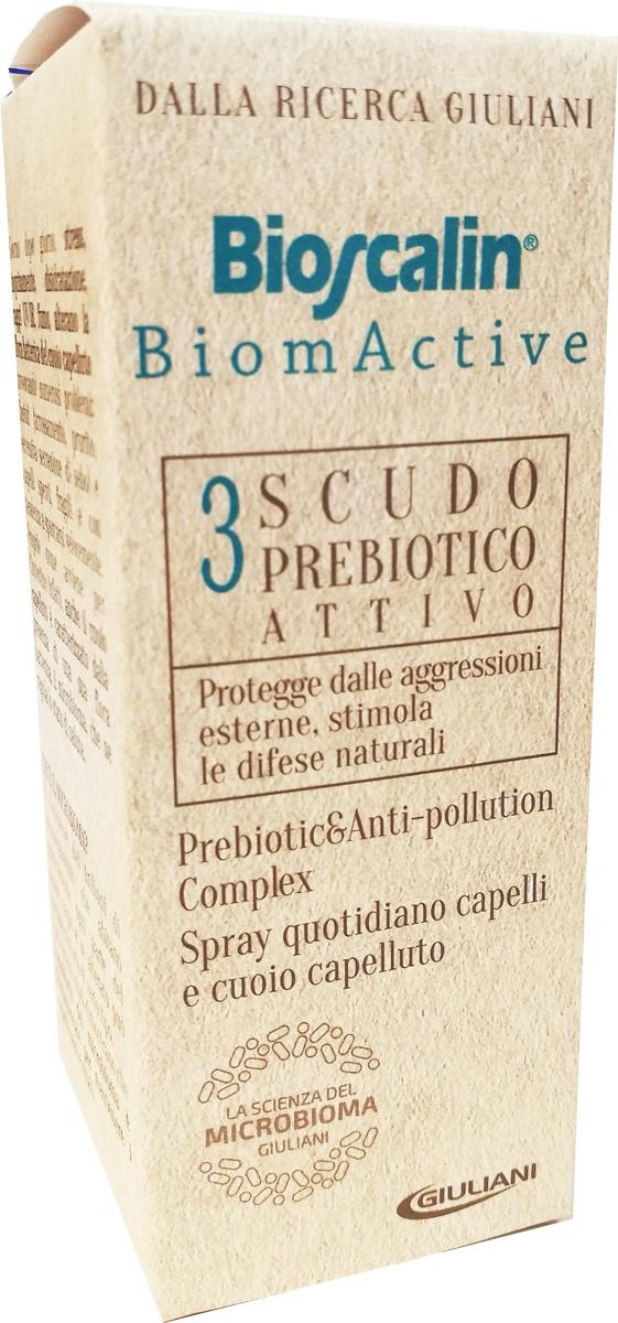 BIOSCALIN BIOMACTIVE SCUDO PREBIOTICO ATTIVO 100 ML - Farmacia Centrale Dr. Monteleone Adriano