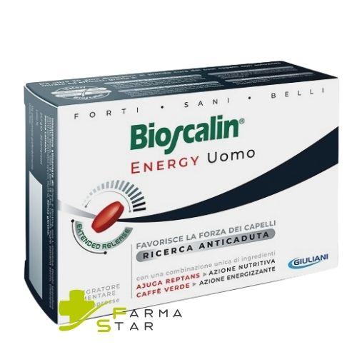 Bioscalin Energy Uomo 30 compresse Integratore Capelli - Farmastar.it