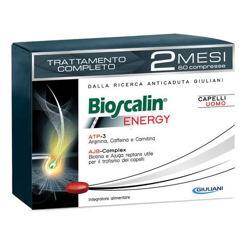Bioscalin Energy Anticaduta Capelli 60 Compresse - latuafarmaciaonline.it