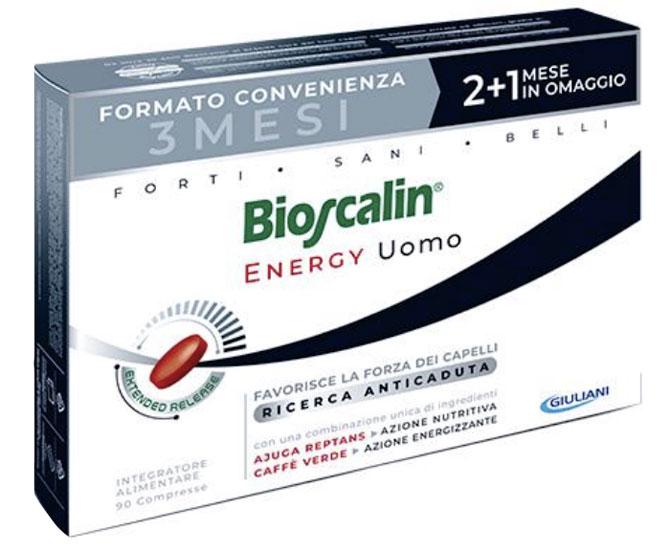 BIOSCALIN ENERGY Uomo 90 COMPRESSE - Farmacielo