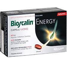 Bioscalin Energy Integratori Capelli 30 Compresse - Turbofarma.it