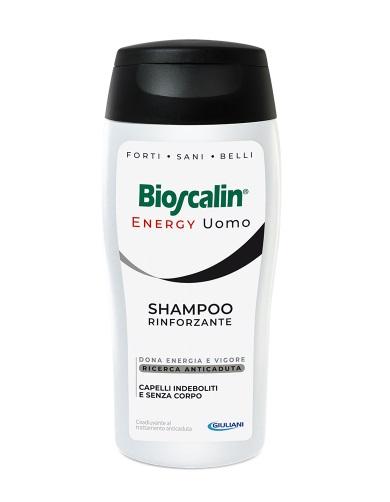 Bioscalin Energy Uomo Shampoo Rinforzante Formato Convenienza 400 ml - Farmastar.it