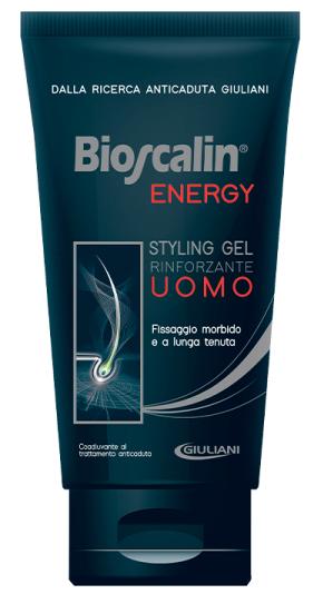 BIOSCALIN ENERGY STYLING GEL RINFORZANTE UOMO - Farmacia Centrale Dr. Monteleone Adriano