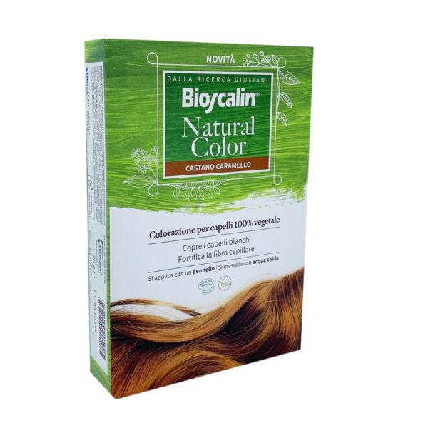 BIOSCALIN NATURAL COLOR CASTANO CARAMELLO 70 G - Farmaconvenienza.it