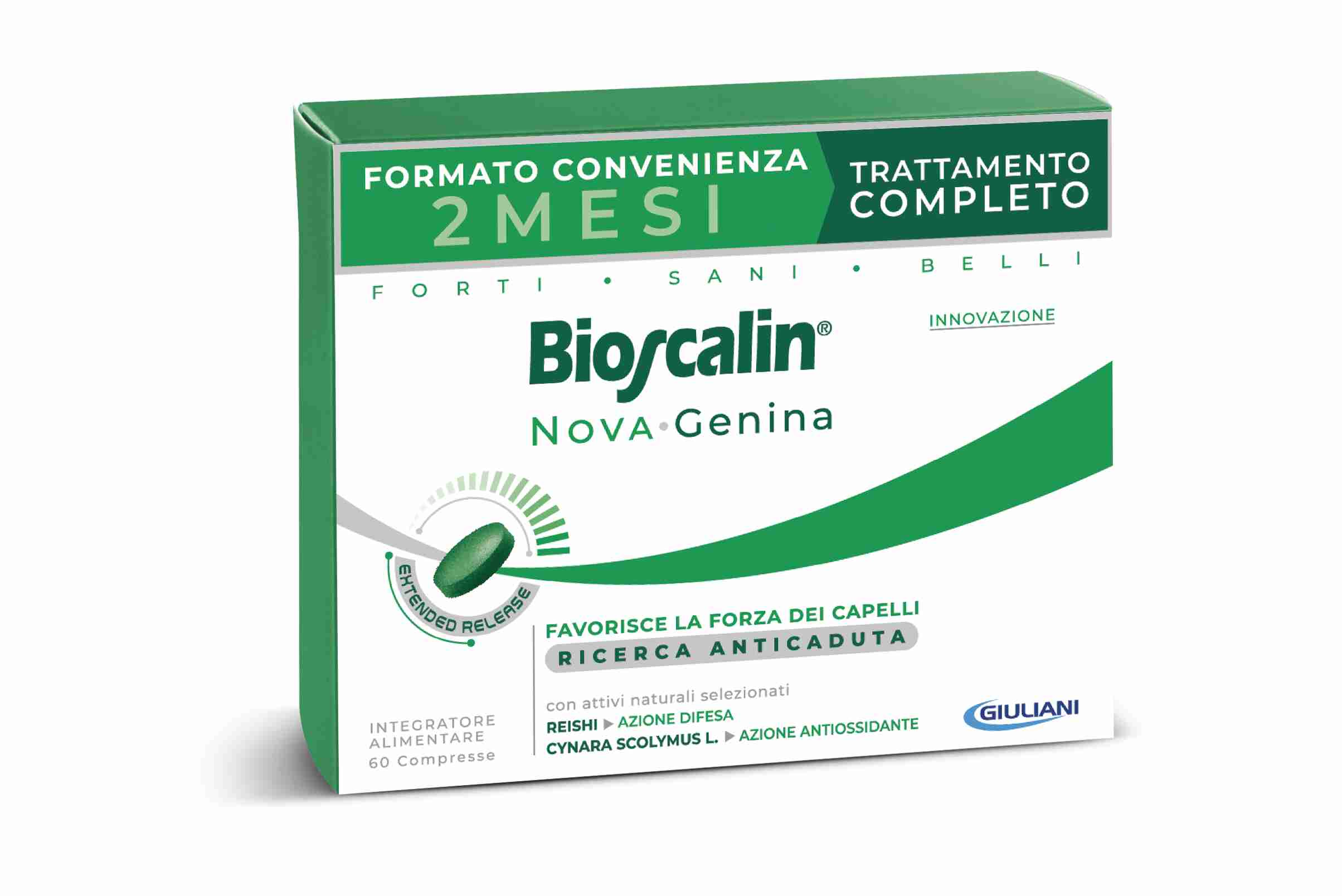 BIOSCALIN NOVA GENINA 60 COMPRESSE - Farmacianuova.eu