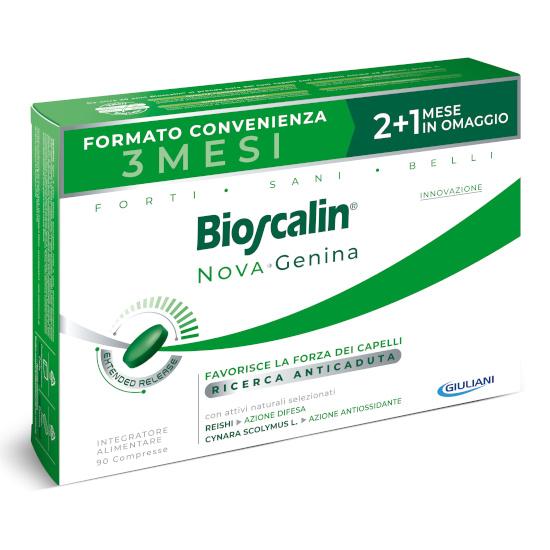 BIOSCALIN NOVA GENINA 90 COMPRESSE 2+1 OMAGGIO - sapofarma.it