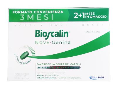 BIOSCALIN NOVA GENINA 90 COMPRESSE 2+1 OMAGGIO - Farmagolden.it