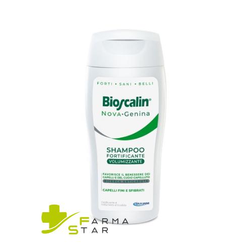 Bioscalin Nova Genina Shampoo Fortificante Volumizzante 400 ml - Farmastar.it