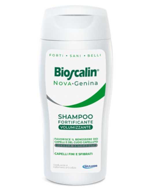 Bioscalin Nova Genina Shampoo Volumizzante 200 Ml - latuafarmaciaonline.it