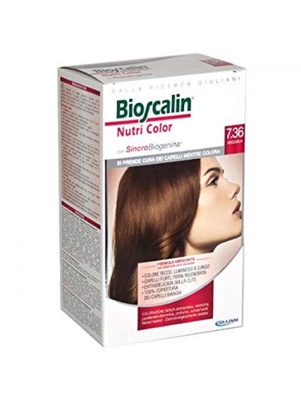 Bioscalin NutriColor 7,36 Nocciola - Farmafamily.it