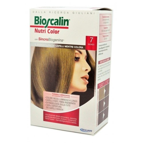 Bioscalin NutriColor Tintura Per Capelli Colore 7 Biondo - Farmafamily.it