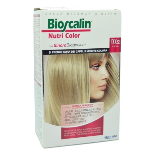 Bioscalin Nutricolor 1000ss Platino - Farmafamily.it