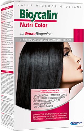 BIOSCALIN NUTRI COLOR 4,64 CASTANO MOGANO RAME 124 ML - Farmacia Centrale Dr. Monteleone Adriano