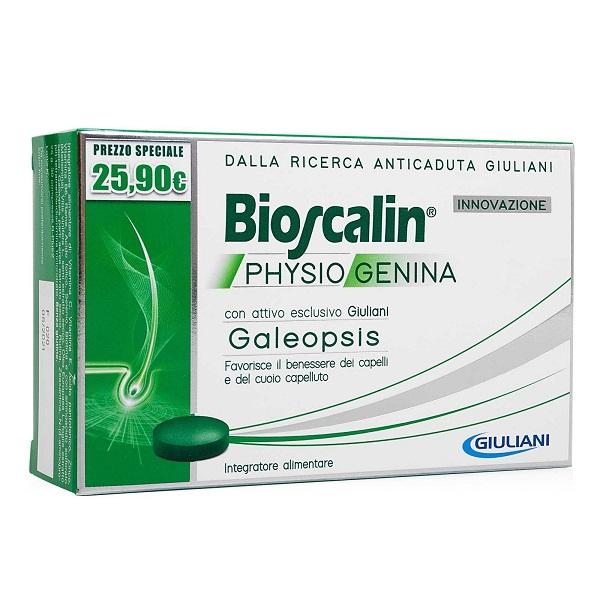 BIOSCALIN PHYSIOGENINA 30 COMPRESSE - Nowfarma.it
