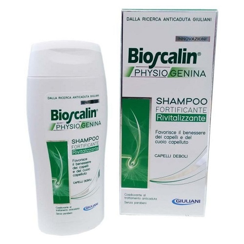 Bioscalin Physiogenina Anticaduta Capelli Shampoo Rivitalizzante 200 ml - Farmafamily.it