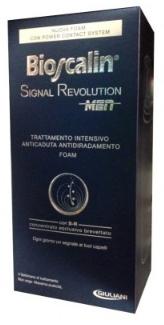 GIULIANI SpA Bioscalin Signal Revolution Foam Men Trattamento intensivo anticaduta 75 ml - Farmaciacarpediem.it