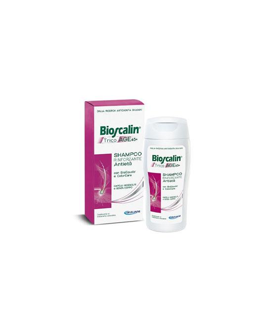 Bioscalin Tricoage 45+  Shampoo Fortificante Donna 200ml - latuafarmaciaonline.it