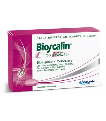 Bioscalin TricoAge 45+ 30 Compresse - Zfarmacia