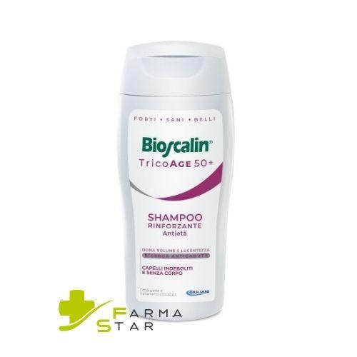 Bioscalin Tricoage 50+ Shampoo Rinforzante Antietà 200 ml - Farmastar.it