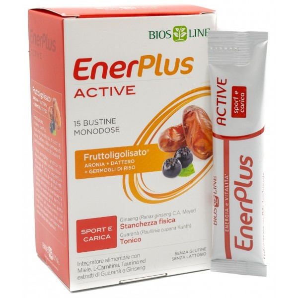BIOSLINE ENER PLUS ACTIVE 15 BUSTINE X 10 ML - Farmastar.it
