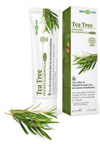 BIOSLINE TEA TREE POMATA EUDERMICA CERT ECOCERT 50 ML - Farmacia Centrale Dr. Monteleone Adriano