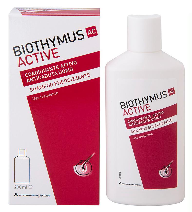 BIOTHYMUS AC ACTIVE UOMO SHAMPOO ENERGIZZANTE 200 ML - Farmacia Centrale Dr. Monteleone Adriano