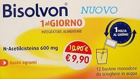 BISOLVON 1AL GIORNO 12 BUSTINE MONODOSE - Farmastar.it