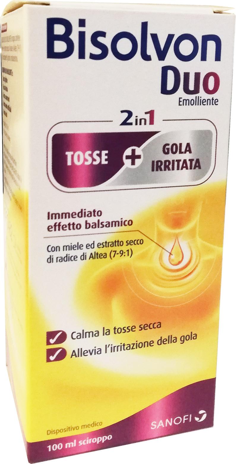 BISOLVON DUO SCIROPPO EMOLLIENTE 100 ML - Farmacia Centrale Dr. Monteleone Adriano