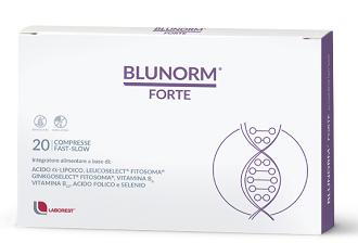 BLUNORM FORTE 20 COMPRESSE - Farmacia Castel del Monte