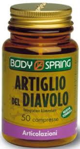 Body Spring Artiglio del Diavolo 50 Compresse - Arcafarma.it