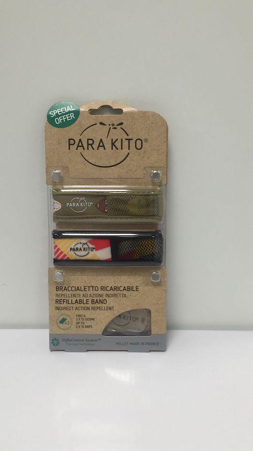 Bracciale Antizanzare Parakito Efas Double Pack Kids - Arcafarma.it