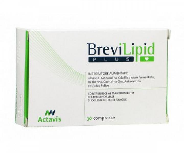 BREVILIPID PLUS 30 COMPRESSE 36,30 G - Zfarmacia