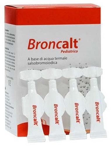 BRONCALT STRIP PEDIATRICO SOLUZIONE IRRIGAZIONE NASALE 20 FLACONCINI DA 2 ML - Farmacia Centrale Dr. Monteleone Adriano